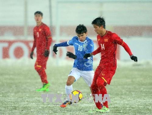 La selection de football du Vietnam U23, un succes de la formation des jeunes footballeurs hinh anh 1