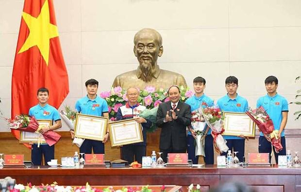 Le sang-froid a aide le Vietnam a recolter une performance historique pour le football national hinh anh 1