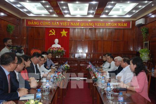Des entreprises sud-coreennes recherchent des opportunites a Binh Phuoc hinh anh 1