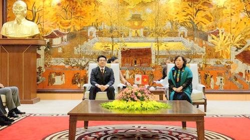 Hanoi et Fukuoka (Japon) cooperent dans divers domaines hinh anh 1