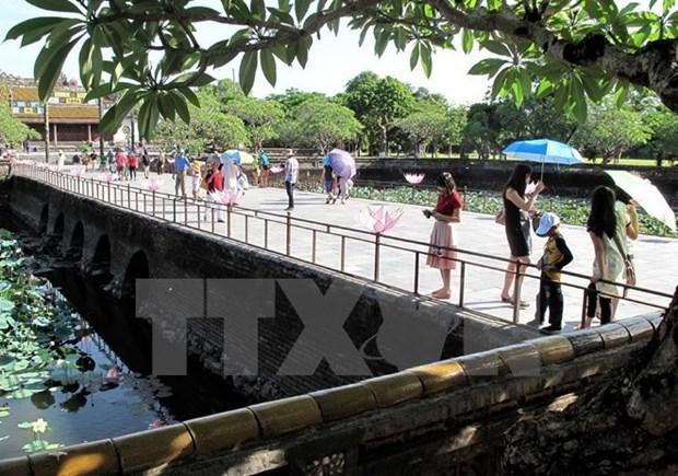 Janvier : le nombre de touristes a Hue et a Phu Quoc en forte croissance hinh anh 1
