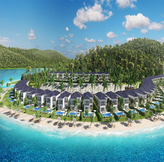 2.100 milliards de dongs pour la construction de la villegiature Swiss Belresort Nha Trang hinh anh 1