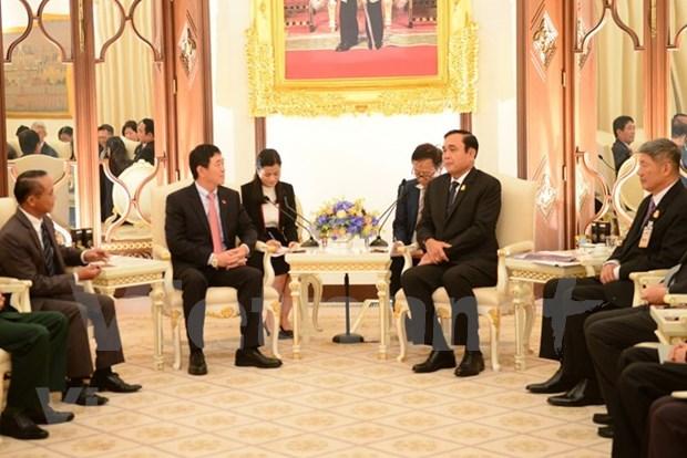 La Thailande favorise l'acces des produits vietnamiens sur son sol hinh anh 1