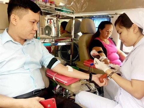 Collecte de sang pour le Tet du Chien hinh anh 1