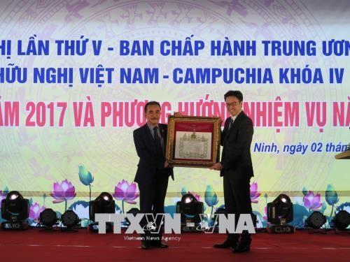 Bilan des activites de l'Association d'amitie Vietnam-Cambodge hinh anh 1