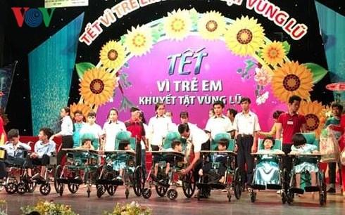 Le Tet pour les enfants handicapes hinh anh 1