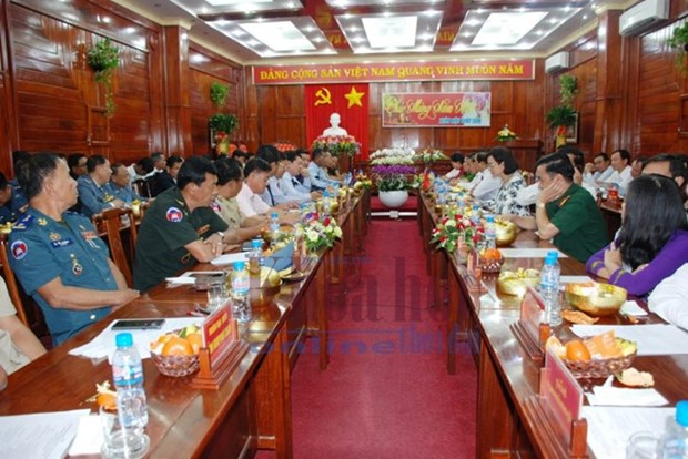 Binh Phuoc renforce sa cooperation avec six provinces cambodgiennes hinh anh 1