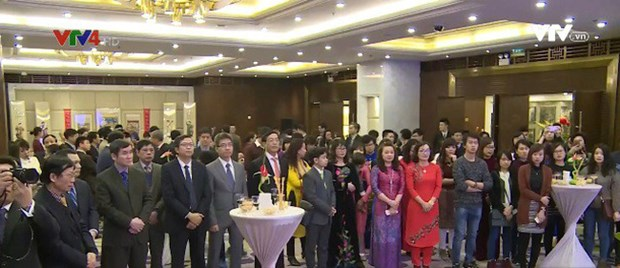 Tet communautaire des Viet Kieu celebre a Pekin (Chine) hinh anh 1