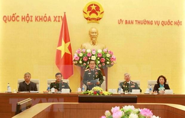 Un vice-president de l'AN rencontre des anciens combattants au front Vi Xuyen hinh anh 1