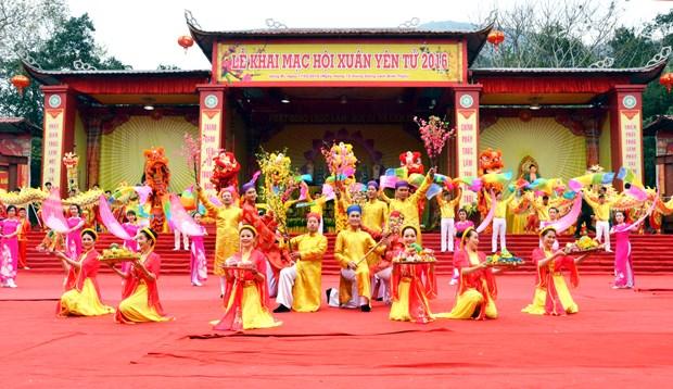 Quang Ninh se prepare pour la fete de Yen Tu 2018 hinh anh 1