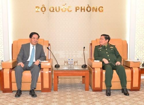 La cooperation dans la defense est un pilier des relations Vietnam-Chine hinh anh 1