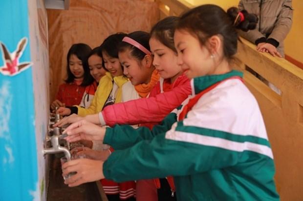 Samsung Electronics Vietnam contribue a l'amelioration de l'hygiene en milieu scolaire hinh anh 1
