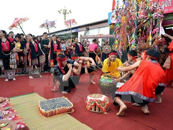 Un festival des Thai classe au patrimoine culturel immateriel national hinh anh 1