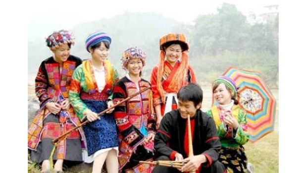 Le Tet traditionnel des Mong a Ha Giang hinh anh 1