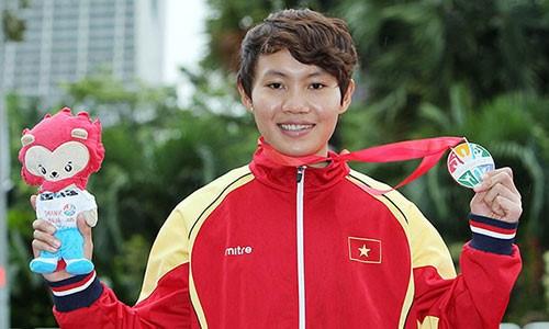 Cyclisme feminin : Nguyen Thi That sacree pour la premiere fois championne d'Asie hinh anh 1