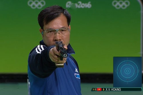 Tir : Hoang Xuan Vinh a la 2e place mondiale au pistolet a 10m hinh anh 1