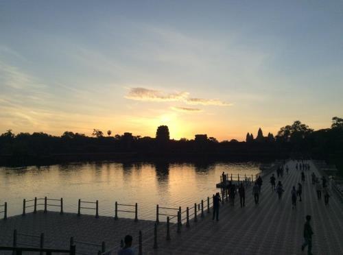 Cambodge : le tourisme a fait une belle moission pendant le Tet hinh anh 1