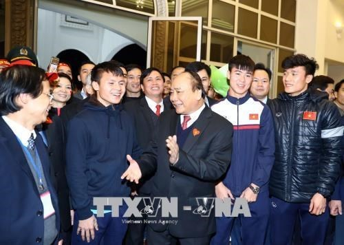 De la victoire de l'equipe U23 a la formation des jeunes footballeurs hinh anh 3