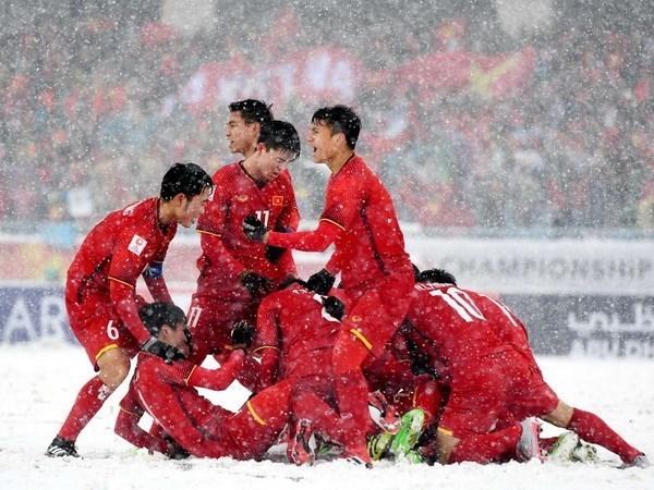 De la victoire de l'equipe U23 a la formation des jeunes footballeurs hinh anh 1