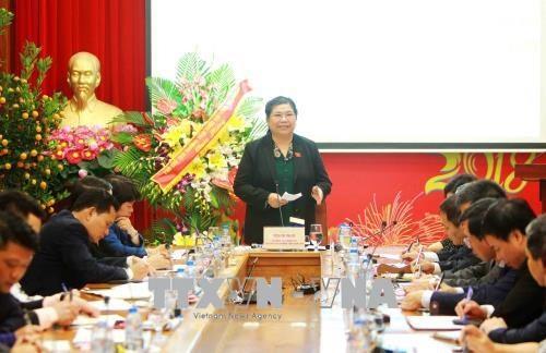 Tong Thi Phong travaille avec la Caisse de securite sociale du Vietnam hinh anh 1