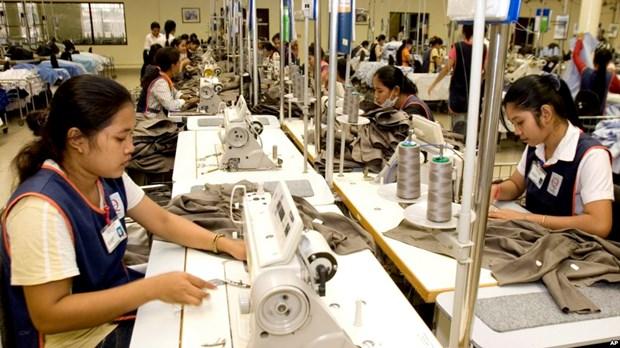 Les exportations du Cambodge en 2017 en hausse de 13% hinh anh 1