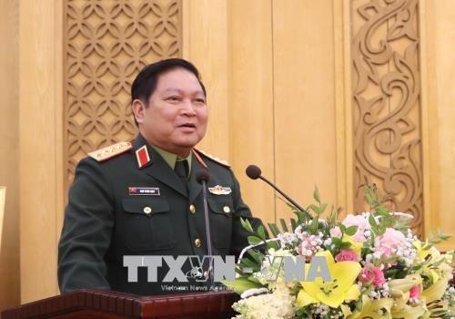 Ngo Xuan Lich travaille avec les departements generaux de la politique et de la logistique hinh anh 1