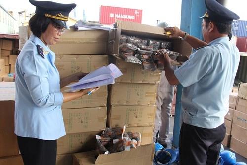 L'import-export en hausse durant les jours feries du Tet du Chien hinh anh 1