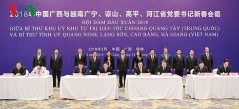Vers une cooperation efficace entre les localites vietnamiennes et le Guangxi hinh anh 1