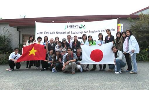 Echange entre jeunes japonais et vietnamiens hinh anh 1