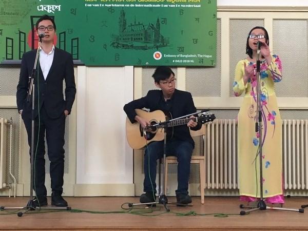 Le Vietnam a la Journee internationale de la langue maternelle aux Pays-Bas hinh anh 2