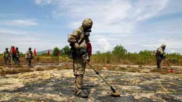 Elargissement de l'echelle de decontamination de la dioxine au district d'A Luoi hinh anh 1