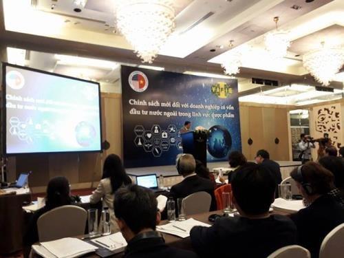 Pharmacie : colloque sur les politiques pour les investisseurs etrangers a Hanoi hinh anh 1