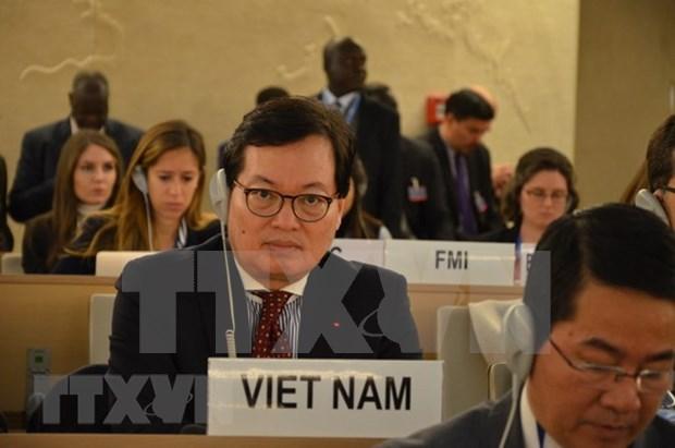 Le Vietnam s'efforce de promouvoir les droits de l'homme hinh anh 1