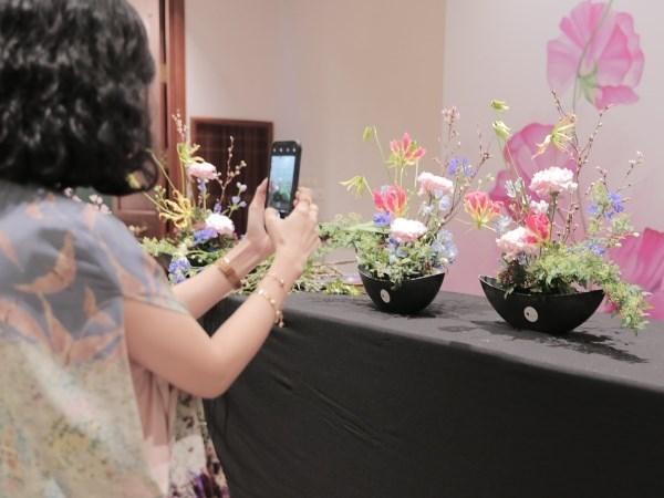 L'art floral japonais se devoile a Hanoi hinh anh 1