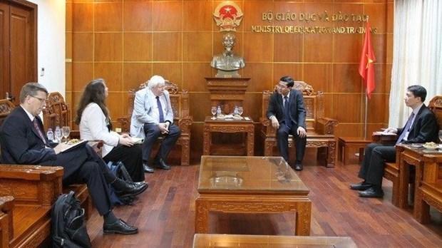 Vietnam et Allemagne renforcent la cooperation dans l'education hinh anh 1