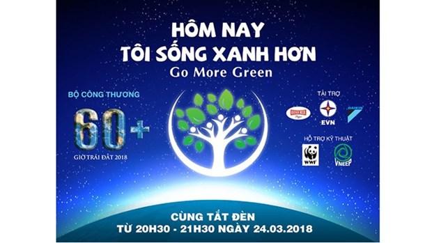 Une heure pour la planete : le Vietnam s'engage pour lutter contre le changement climatique hinh anh 1