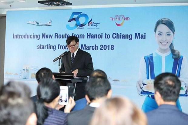 Bangkok Airways ouvrira une ligne directe Hanoi – Chiang Mai en mars hinh anh 1