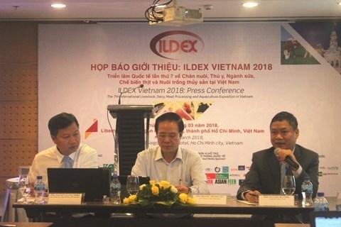 Elevage: 250 entreprises a ILDEX Vietnam 2018 hinh anh 1