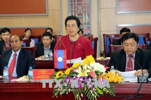 Nghe An accueille une delegation de l'Assemblee nationale laotienne hinh anh 1