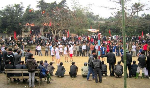 La fete et les jeux populaires du village de Ngoc Tan hinh anh 1
