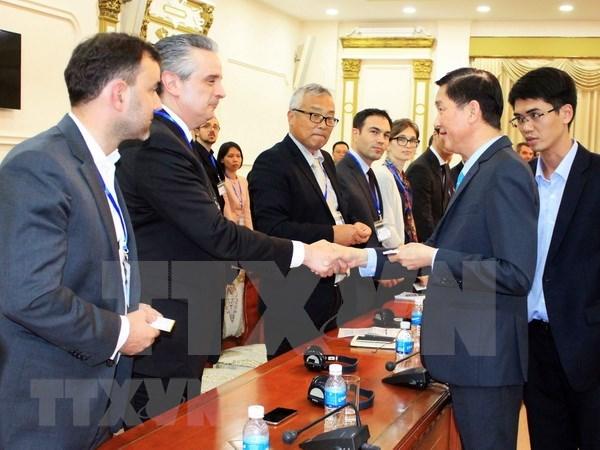 Ho Chi Minh-Ville et la France renforcent leur cooperation dans le transport urbain hinh anh 1