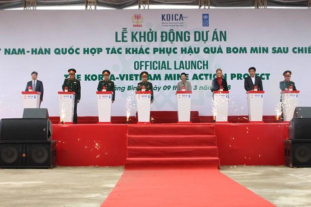 Vietnam-R. de Coree : cooperation dans le reglement des consequences des bombes et mines hinh anh 1