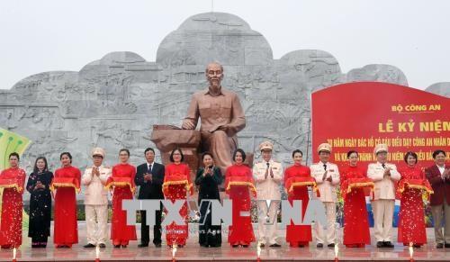 Police: ceremonie des 70 ans du lancement des Six enseignements de l'Oncle Ho hinh anh 1