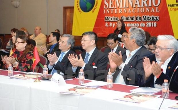 Une delegation du Parti communiste du Vietnam au Mexique hinh anh 1