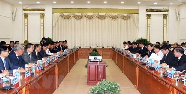 Ho Chi Minh-Ville et Phnom Penh resserrent leur cooperation hinh anh 1