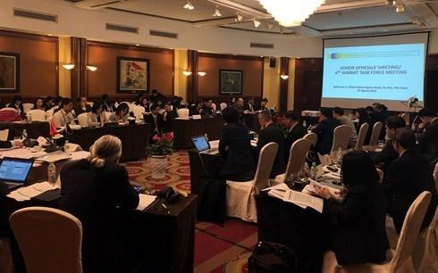 Les hauts officiels discutent des preparatifs du 6e Sommet de la sous-region du Mekong elargie hinh anh 1