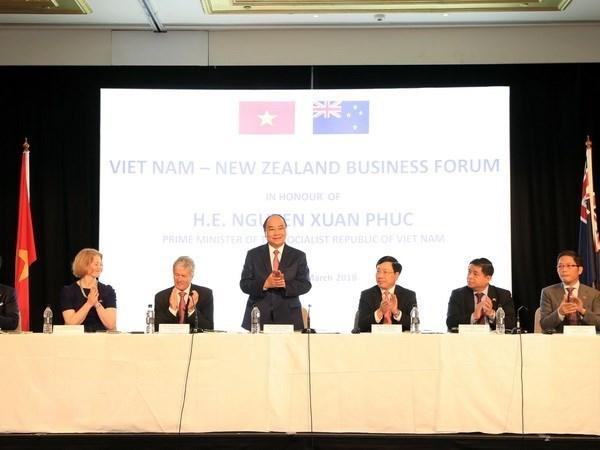 Le Premier ministre au Forum d'affaires Vietnam - Nouvelle-Zelande hinh anh 1