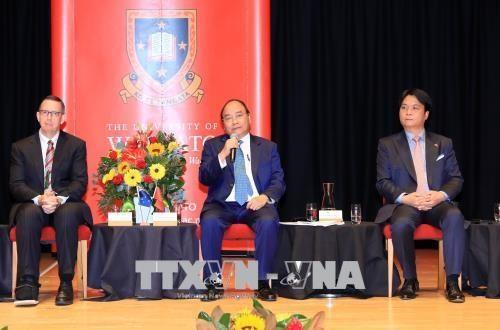 Le Premier ministre Nguyen Xuan Phuc visite l'Universite de Waikato (Nouvelle-Zelande) hinh anh 1