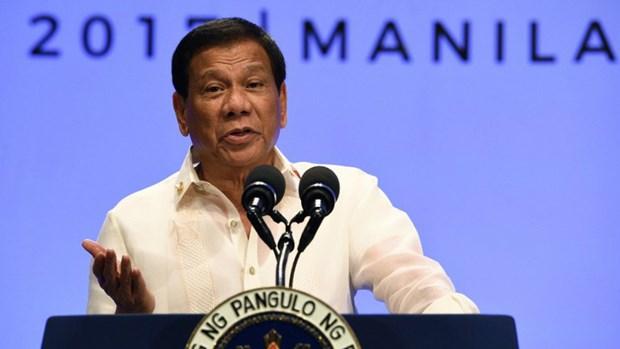 Le president des Philippines annonce le retrait du pays de la Cour penale internationale hinh anh 1