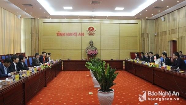 Aide de la JICA dans la province de Nghe An hinh anh 1